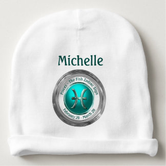 Pisces - The Fish Astrological Sign Baby Beanie