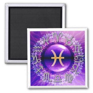 Pisces (the fish) Zodiac Sign Magnet Magnet