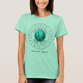 Pisces - The Fish Zodiac Sign T-Shirt