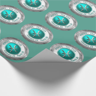 Pisces - The Fish Zodiac Sign Wrapping Paper