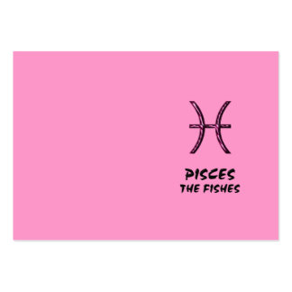 Pisces the fishes business card
