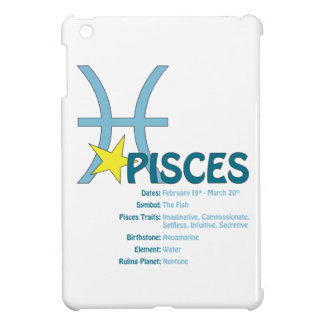 Pisces Traits iPad Case