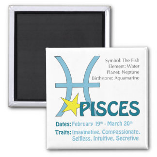 Pisces Traits Magnet