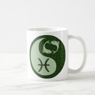 Pisces Yin Yang Coffee Mug