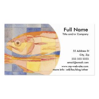 Pisces Zodiac Business Cards