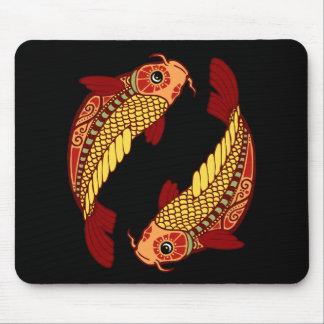 Pisces Zodiac - Fish Mouse Pad