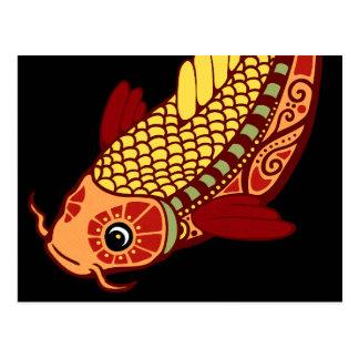 Pisces Zodiac - Fish Postcards