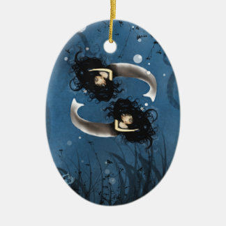 Pisces - Zodiac Girls - Ornament