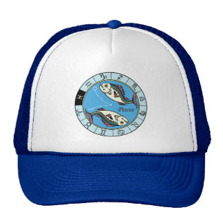 pisces zodiac hat