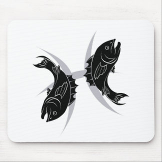 Pisces zodiac horoscope astrology sign mousepads