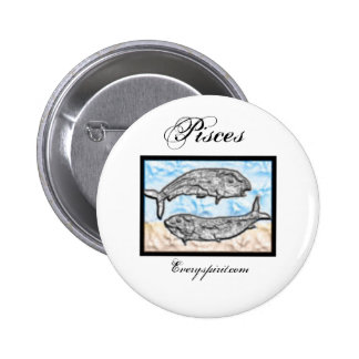 Pisces Zodiac Items Pins