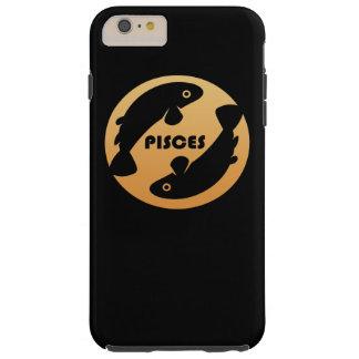 Pisces Zodiac Sign Tough iPhone 6 Plus Case