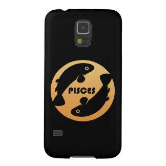 Pisces Zodiac Sign Galaxy S5 Case