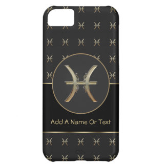 Pisces Zodiac Sign Personalized iPhone 5C Case