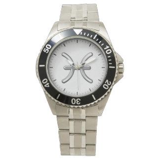 Pisces Zodiac Symbol - Cool Astrology Sign Wrist Watch