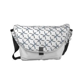 Pisces Zodiac Symbol Element Courier Bags