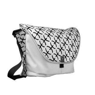 Pisces Zodiac Symbol Standard Commuter Bag
