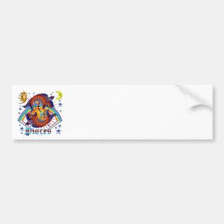 Pisces-Zodiac-V-1 Bumper Sticker