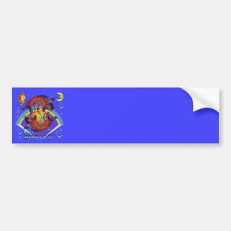 Pisces-Zodiac-V-1 Bumper Stickers