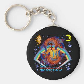 Pisces-Zodiac-V-1 Keychain