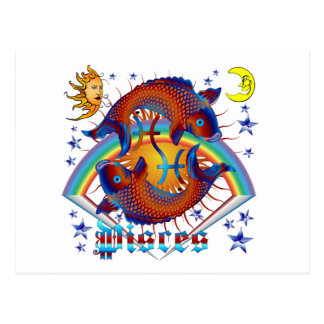 Pisces-Zodiac-V-1 Postcard