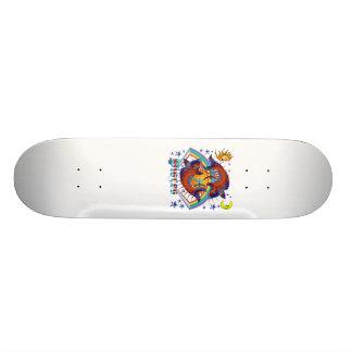 Pisces-Zodiac-V-1 Custom Skateboard