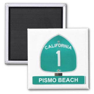 Pismo Beach, California Highway 1 Magnet