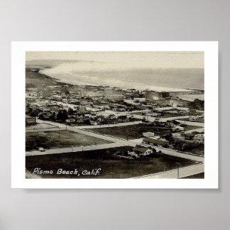 Pismo Beach, California Vintage Poster