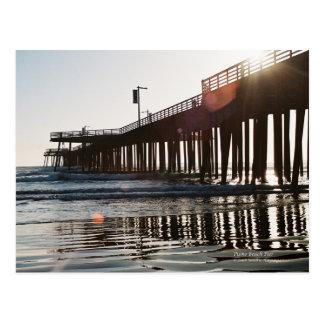 Pismo Beach Pier Postcard