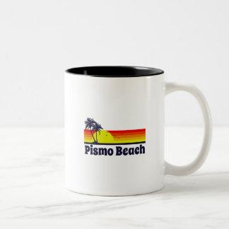Pismo Beach Two-Tone Coffee Mug
