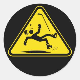 Piso Mojado Logo on Black Sticker