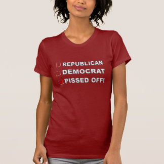 PISSED OFF! FUNNY CHECK LIST T-Shirt