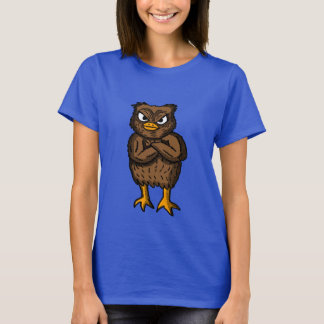 Pissed off Owl Shirt