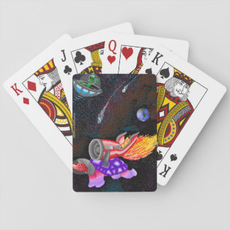 Pissicodelic Turttle Playing Cards