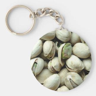 Pistachio nuts key chains