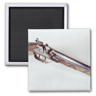 Pistol belonging to Abd el-Kader Square Magnet