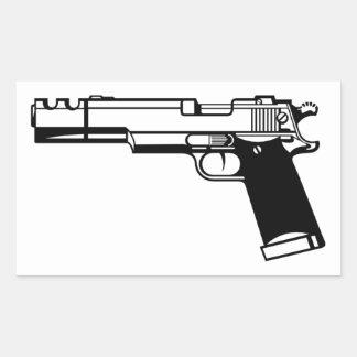 Pistol Sticker