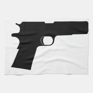 Pistol Tea Towel