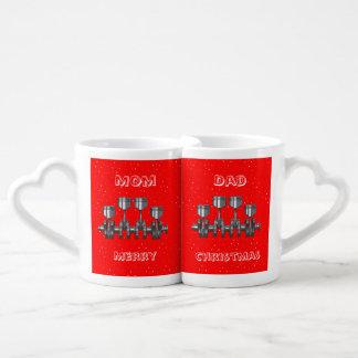 Piston Crankshaft Coffee Mug Set