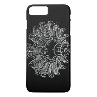 Piston engine diagram iPhone 7 Plus case