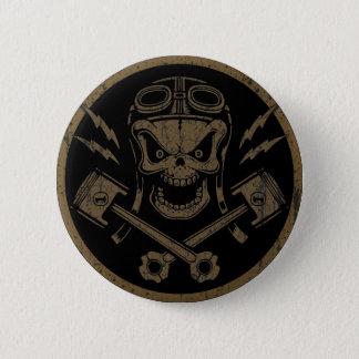 Piston Pistoff II -silver/gold 6 Cm Round Badge