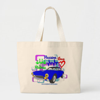 pistons passion love F250Lusso Large Tote Bag