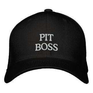 PIT BOSS EMBROIDERED HAT