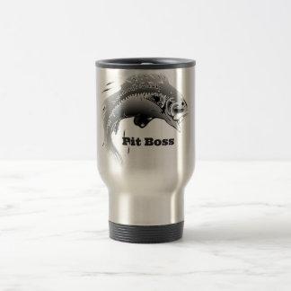 """""""Pit Boss"""" travel Mug"""