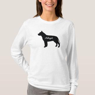 Pit Bull Adopt Logo - Long Sleeve Shirt
