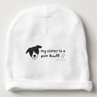 pit bull baby beanie