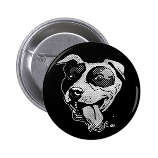 Pit Bull Big Dot Buttons