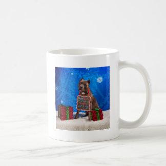 Pit-Bull Christmas Coffee Mug