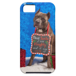 Pit-Bull Christmas iPhone 5 Cover
