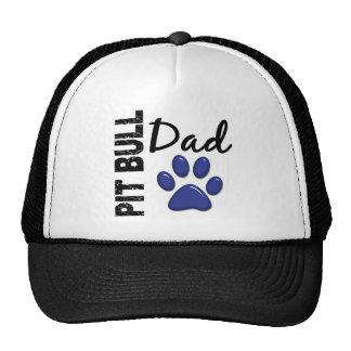 Pit Bull Dad 2 Mesh Hats